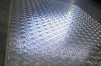 Lastre E Lamiere In Alluminio Mandorlato